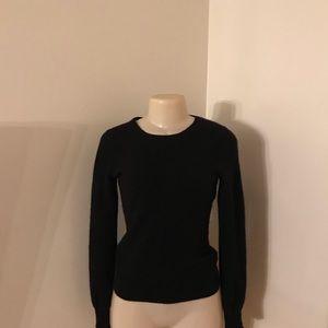 Henri Bendel Black 100% Cashmere sweater